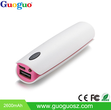 Valued Universal 2600mAh Mini Power Bank for Phone device and Laptop