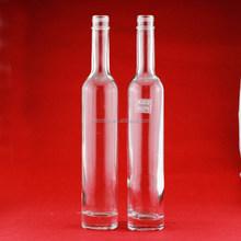 Antique design 350ml liquor glass bottle glass vodka bottle 375ml