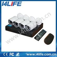 ahd camera kit 4 channel cctv dvr system, h.264 hd ahd dvr low price 4CH cctv dvr kit