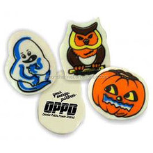 Hotsale custom fashional Assorted Halloween Erasers