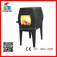 Newest hot selling indoor free standing cast iron fireplace