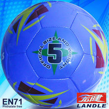 Official size 5 tpu machine stitched soccer balls