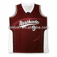 Promotional Customized Baseketball Jersey