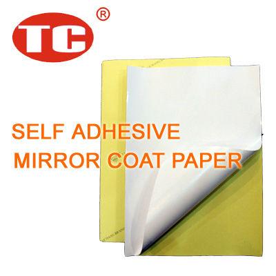 Self adhesive mirror coat sticker paper buy mirror coat for Sticker miroir adhesif