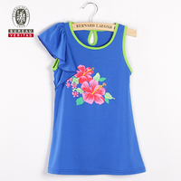 2012 new design fashion baby dress pure color baby flower dress