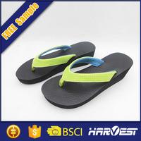 plain rubber flip flop, cheap wholesale toe separator flip flop black