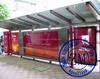 Led Outdoor Tv Billboard Bus Stop Advertising Light Box Station