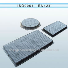 EN124 ductile iron manhole cover