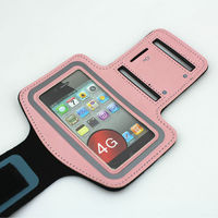 discount cell phone accessories sporting runner armband case for iphone 4