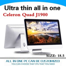 2014 New Remote Pc Quad Core Mini Pc All In One Pc 18.5inch With J1900 2.0GHZ 2G Ram 500G HDD Support Audio, video
