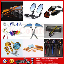 Newest mirrors for bajaj ct100 motorcycle with high quality for sale