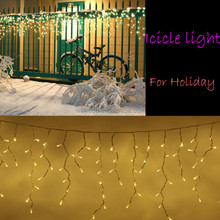 3m For christmas light led icicle light for European market