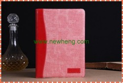 Jeans Flip Stand Leather Case With Flexible Holder Card Slots for iPad 5
