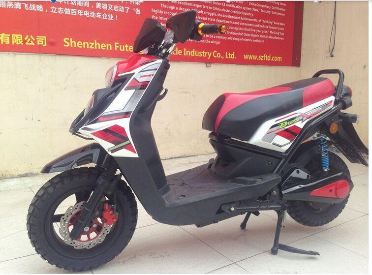 Haute puissance 72 v 1500 w 70 km nouveau design e bike racing moto