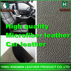 high quality fireproof British standard microfiber textiles leather