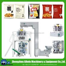Puffed food packaging machine autmatic packing machine line