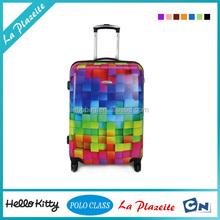 2015 Guangzhou Trendy custom ABS luggage travel bags