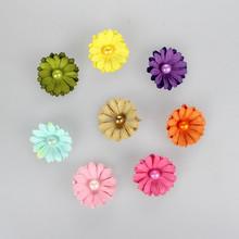 Colorato gelso fiori di carta scrapbook ingrosso, fiori di carta fai da te 4.2cm #58104