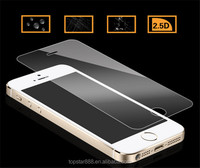 Color tempered glass screen protector for iphone 5 Cheap factory tempered glass film tempered glass for iphone 5