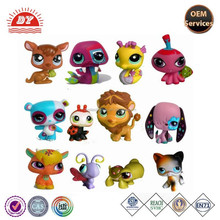 Vinyl manufacturer customized littlest pet shop plastic toys for kids