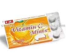 amargo de la vitamina c presionado candy