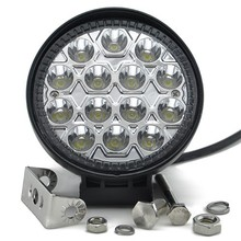 4Inch LED 42W LED Work Light 12/24V Driving On Truck Jeep Atv 4WD Boat Mining LED driving light