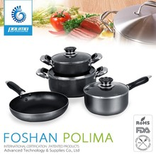 16pcs korea color nonstick marble kitchenware and cookware