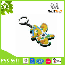 Chinese National Day PVC keychains for promotion
