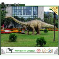 Large animated animatronic dinosaur for Jurassic park