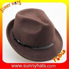 Alibaba China 100% Wool Felt Winter Vintage Fedora Fashion Ladies Dress Hats Wholesale
