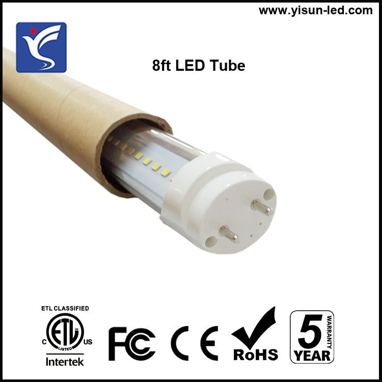 wholesale 40w 8 foot led retrofit tube light 4000lm with etl fcc. Black Bedroom Furniture Sets. Home Design Ideas