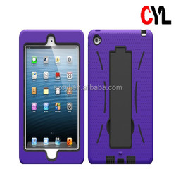 Combo case for ipad mini 4 / flat shell with stand robot for ipad mini 4 / most popular combo case for ipad mini 4