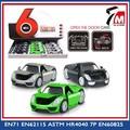 Modelo de juguete de Metal del coche fabricación en Chenghai mini tirar volver toy car con puerta abierta capó 1 32 die cast car