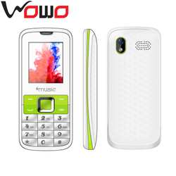 WOWO Promotion gifts cheap GSM feature phone good quality DUAL 2 sim mobile phone