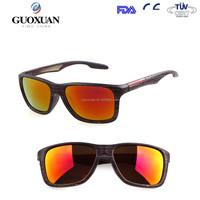 2015 Coating Wood frame sunglasses Sun Glasses Men Women Brand Designer