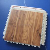 New PVC interlock wooden floor,PVC floor mat , vinyl floor tile