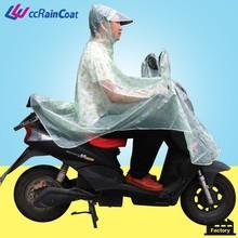 Colors Men Motorcycle Riding PVC Raincoat