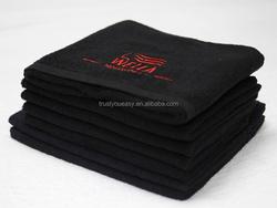 100% cotton anti-bleach hair salon towel