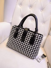 2015 Korea style Knitted totes bag