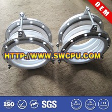 Custom expansion rubber joint