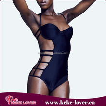 2015 New Designs triangl swimwear bikini no minimum sexy black girls swimwear bikini one-piece muslim swimwear wholesale
