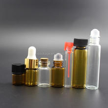 1ml, 2ml, 3ml Medical reagent Glass Vials, Small Essential Oil Tube Bottles, Tester Vials for sale