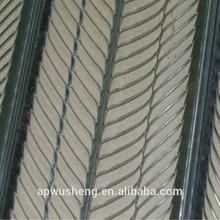 zincato assicella costola in acciaio per cemento armato