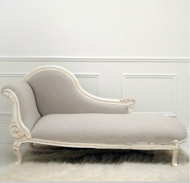 Antique design kids royal carved chaise lounge chair for Antique chaise lounge styles