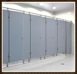 Latest Phenolic HPL Toilet Cubicle Partition