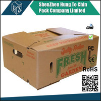 Waxed vegetable boxes, Wax coated box, Avocado corrugated box