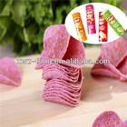 popular roxo batata chips