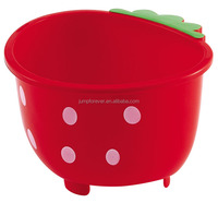 Very beaurtiful large high quality strawberry plastic basket for vegetables