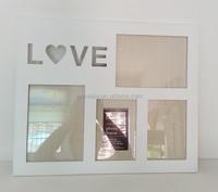 love wood photo frame/MDF love photo frame/wood photo frame