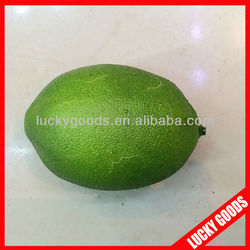 wholesale green lemon like real artificial fruit decorations